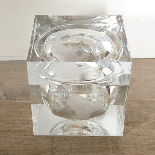 1970s Lucite Cube Ice Bucket DA3010553