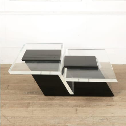 1970s Lucite Table by Saporiti CT3010552