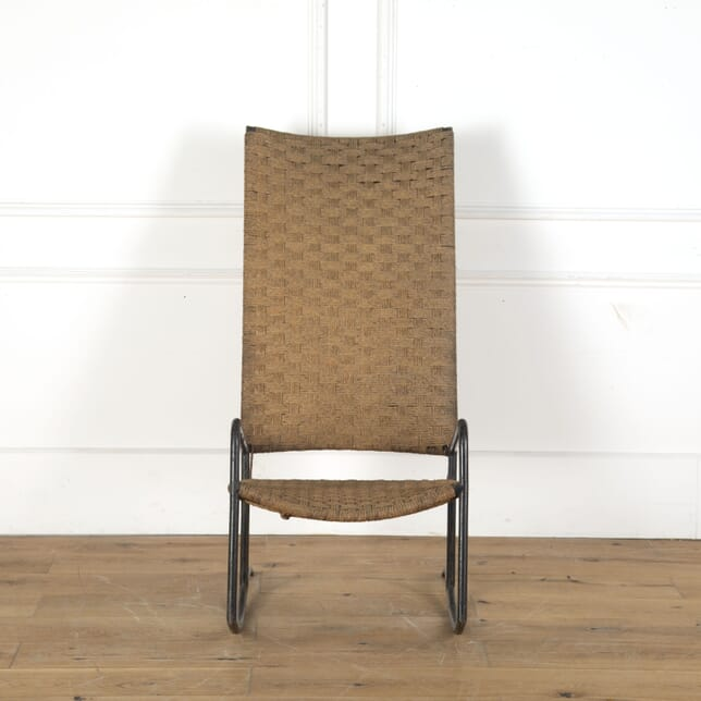 1970s Spanish Rattan Rocking Chair CH9213224