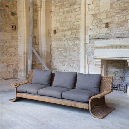 1970s Woven Cord Sofa by Marzio Cecchi SB019381