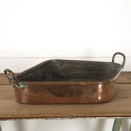 19th Century Copper Turbot Pan DA1212072