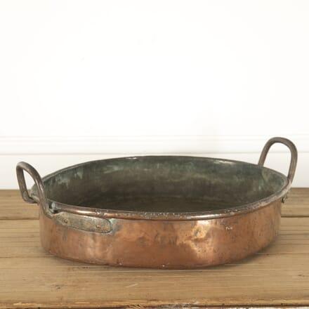 19th Century Copper Turbot Pan DA1212071