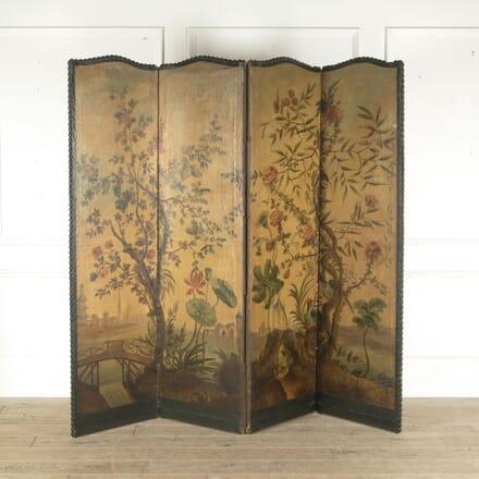 19th Century French Four Fold Screen DA6013301