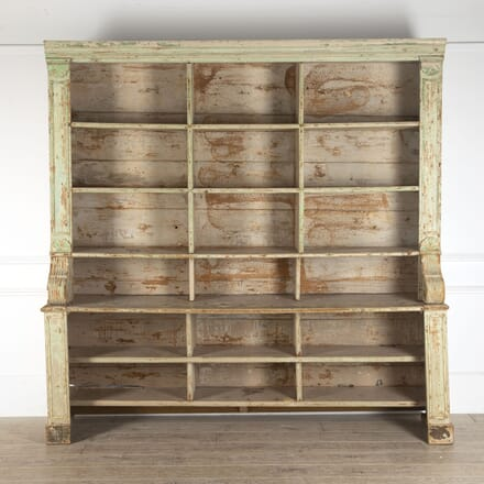 19th Century French Shelf Bookcase BK4412550