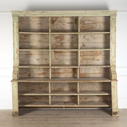 19th Century French Shelf Bookcase BK4412550