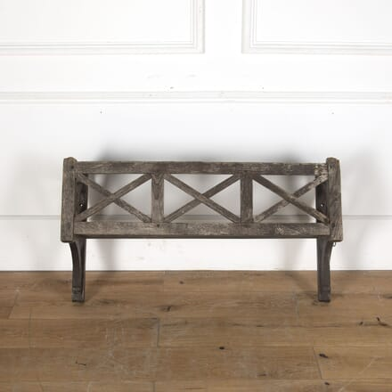 19th Century French Wooden Window Box GA3713096