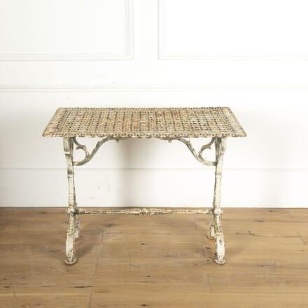 19th Century Iron Garden Table GA5512526