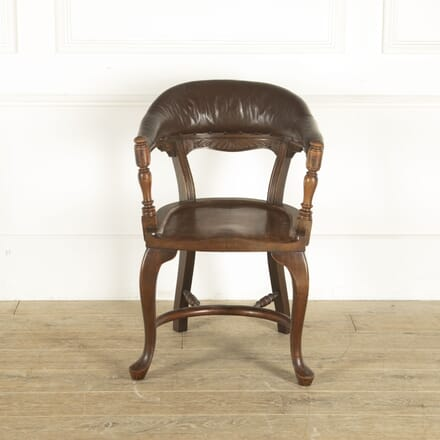 19th Century Hardwood Desk Chair CH8812383