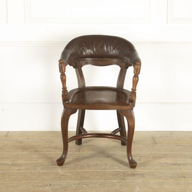 19th Century Hardwood Desk Chair CH8812383
