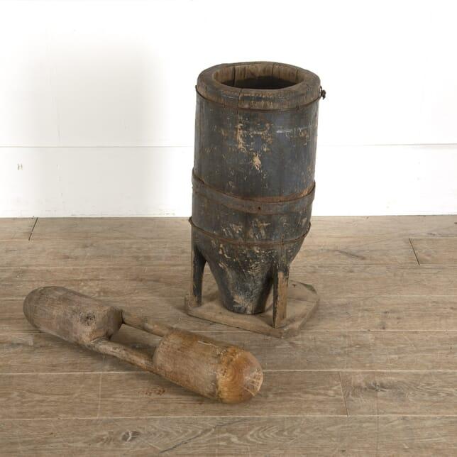 19th Century Large Pestle and Mortar DA7712350