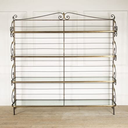 19th Century French Baker's Rack BK4412909
