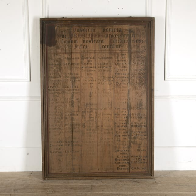 19th Century Monastic Scholarship Board DA7712338