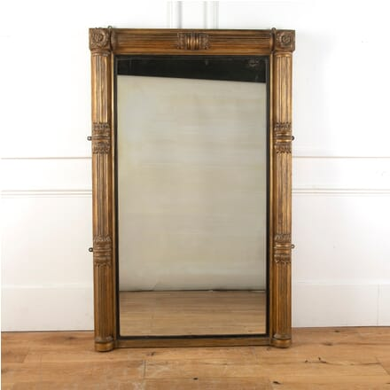 19th Century Portrait Gilded Mirror MI1011622