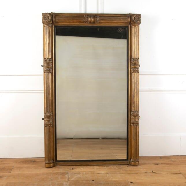 19th Century Portrait Gilded Mirror MI1011622