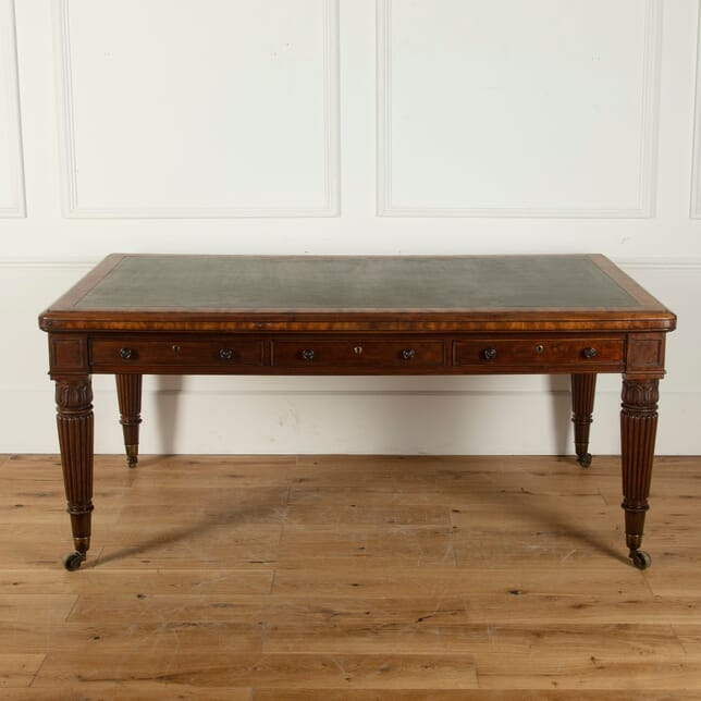 19th Century Regency Mahogany Library Table TC1011620