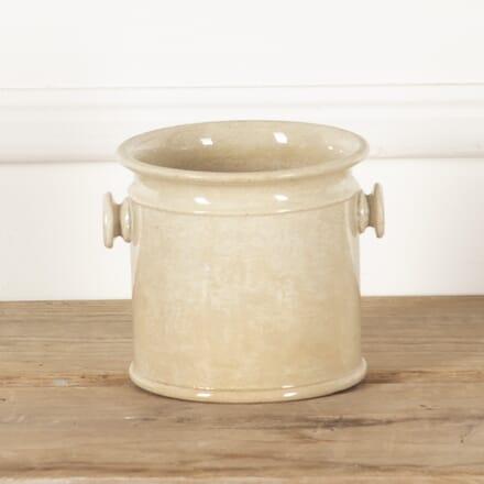 19th Century French Glazed Handled Pot with Handles DA4414103