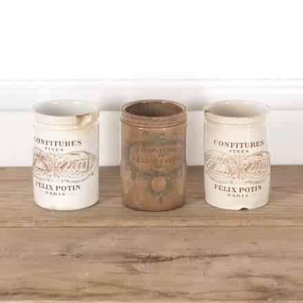 19th Century French Porcelain Jam Jars DA4414105