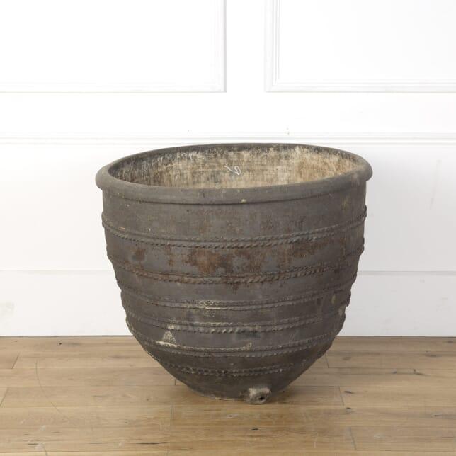 19th Century Black Spanish Pot GA7310132