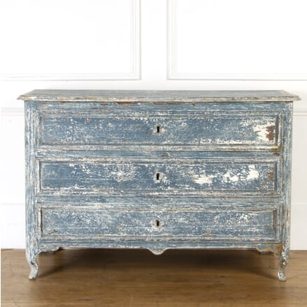 19th Century Blue French Commode CC7517214