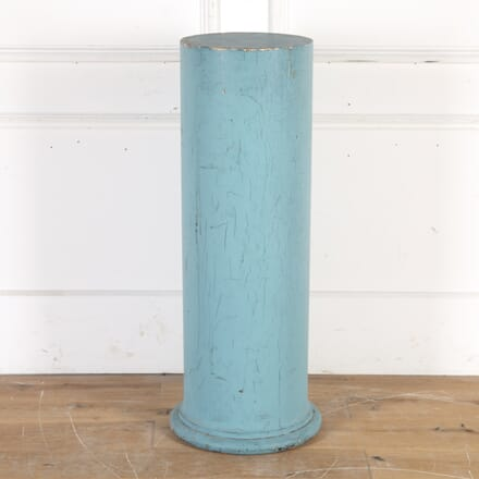 19th Century Blue Painted Pedestal DA1014347