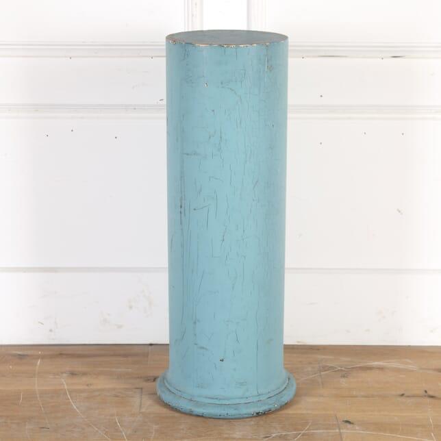 19th Century Blue Painted Pedestal DA1014347