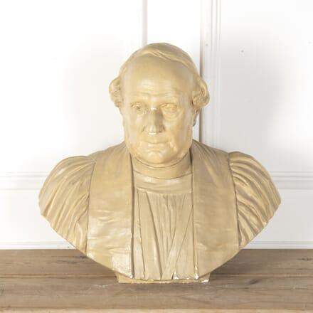 19th Century Plaster Bust DA4753900