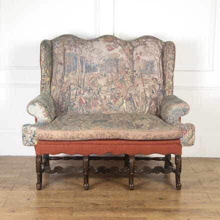 19th Century Carolean Style Settee CH0316754
