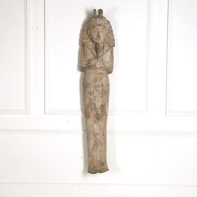 19th Century Carved Egyptian Figure GA5210548