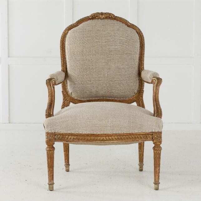 19th Century Carved Wood Chair CH0610630
