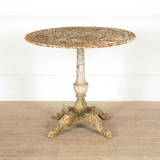19th Century Cast Iron Table TC1110897