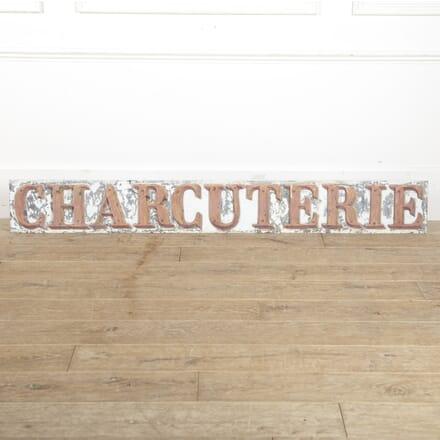 French 19th Century Charcuterie Sign DA6015181