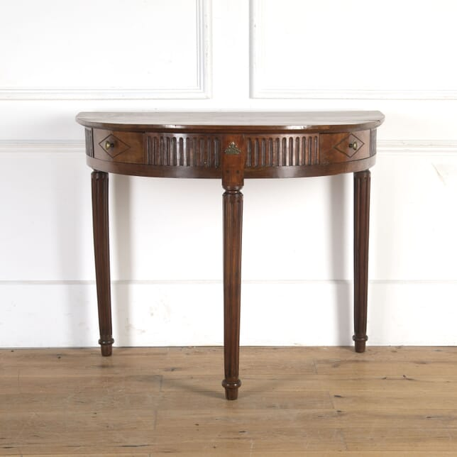 19th Century Cherrywood Console Table CO7359904