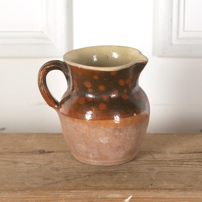 19th Century Chestnut Brown Confit Pot DA719838