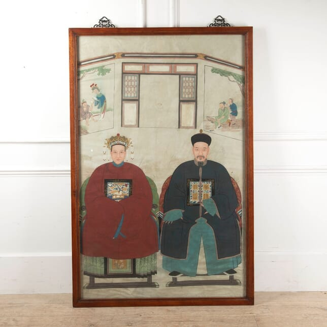 19th Century Chinese School Portrait WD9011259