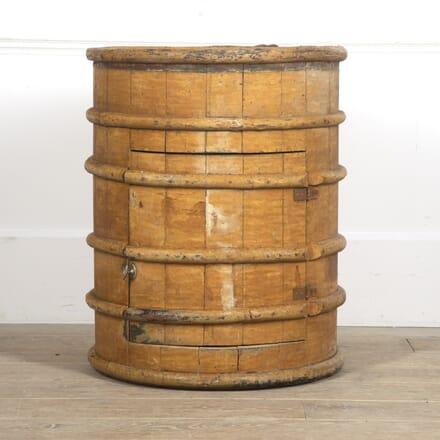 19th Century Converted Barrel Cupboard BU7715662