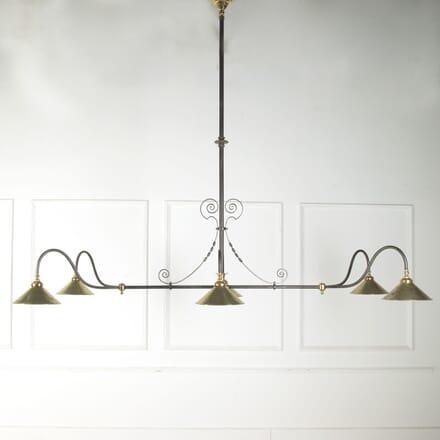 19th Century Converted Billiard Light LC1010492