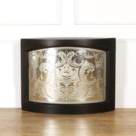 19th Century Curved Pub Mirror MI4317713