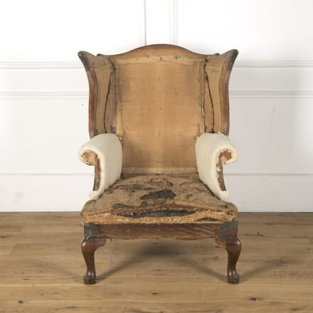 19th Century Deconstructed French Wingback Armchair CH2810518