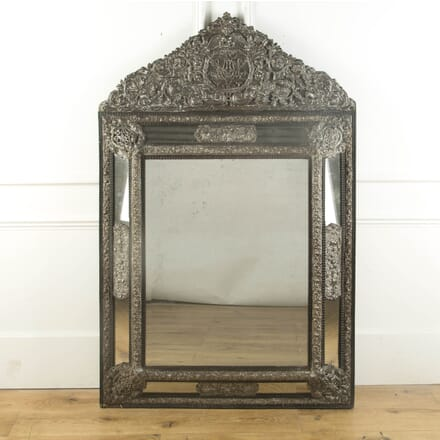 19th Century Dutch Repousse Mirror MI749472