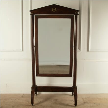 19th Century Empire Cheval Mirror MI8810665