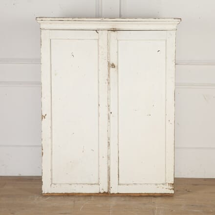 English 19th Century Painted Housekeeper's Cupboard BU2816387