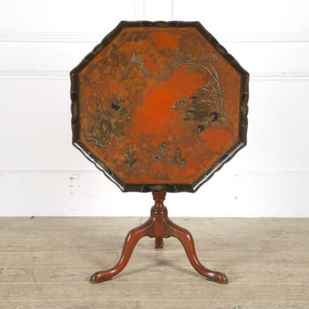 19th Century English Lacquer Table TC059503