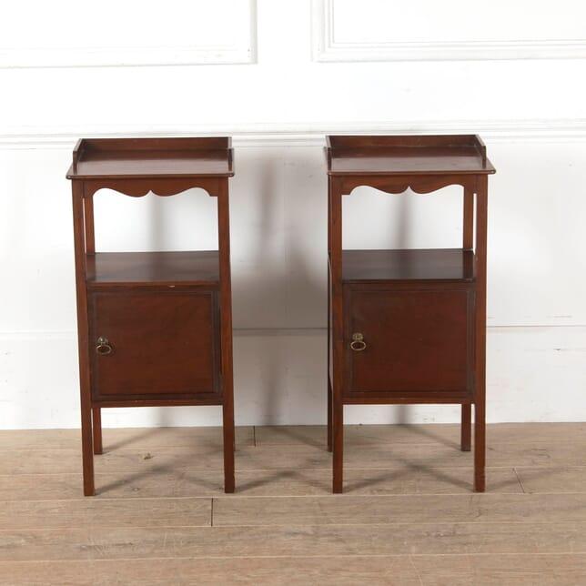 19th Century English Mahogany Bedside Tables BD8811179