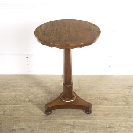 19th Century English Mahogany Lamp Table TC0510071