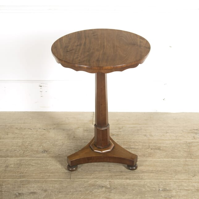 19th Century English Mahogany Lamp Table TC0510071