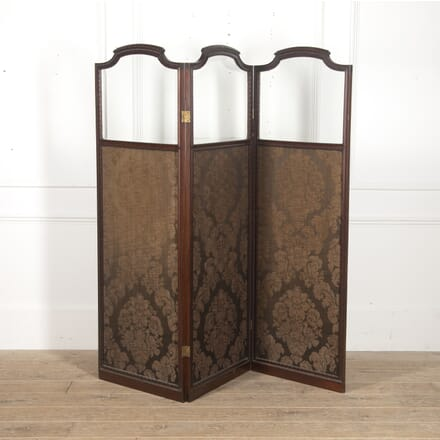 English 19th Century Panelled Screen OF8816078