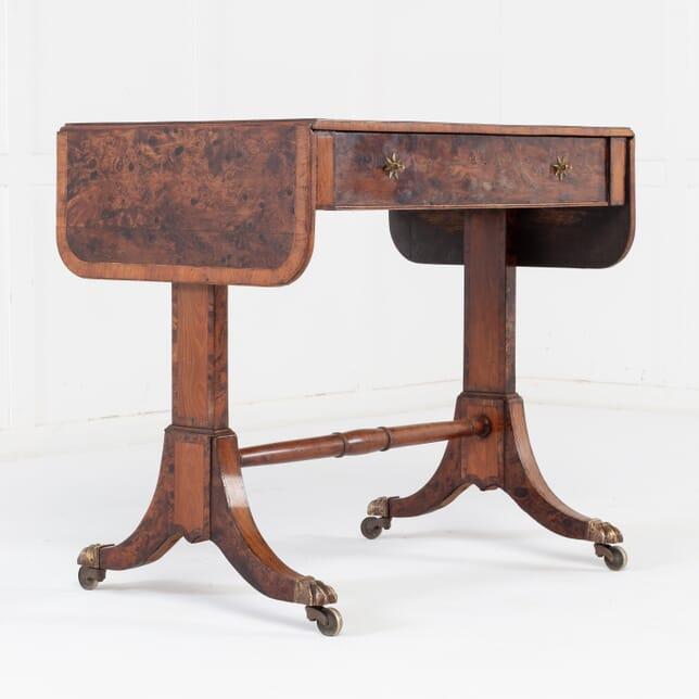 19th Century Regency Burr Yew Sofa Table CO0615665