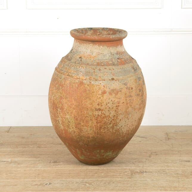 19th Century English Terracotta Pot GA2010617