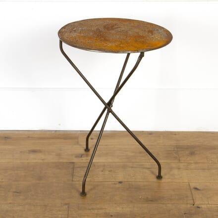 19th Century Folding Bistro Table GA7117697