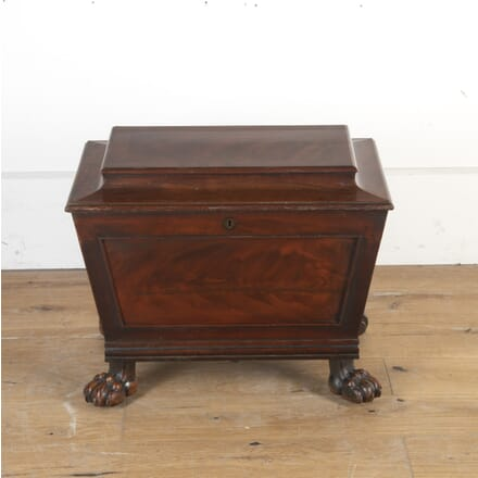 19th Century Flamed Mahogany Cellarette DA8113944